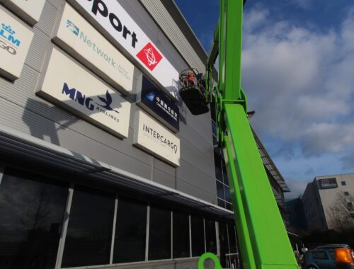 Cherry picker fitting made easy