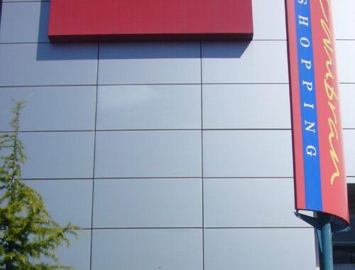Shopping centre Flex face sign